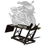 Black Widow Rage Powersports BW-550 Hydraulic Motorcycle Lift