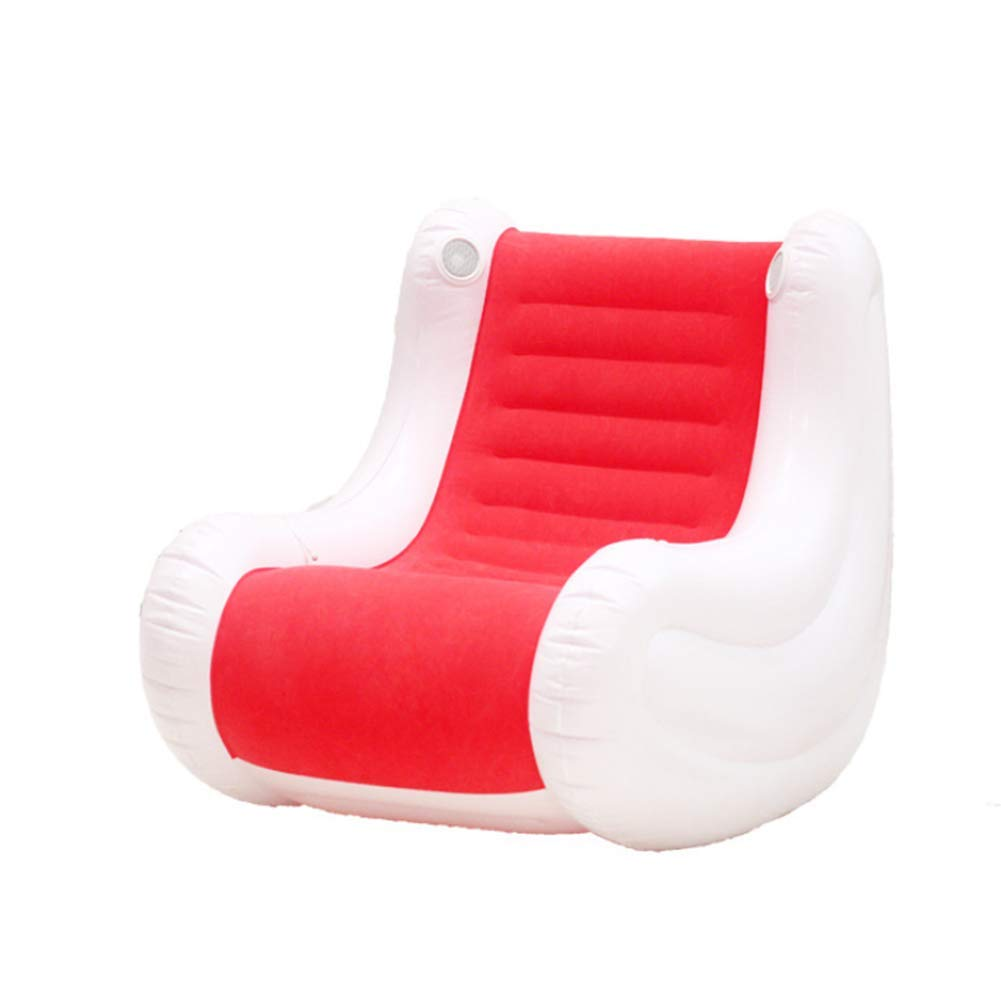 Inflatable Music Sofa Leisure Couch Musical Lounge Chair Rocking Chair Electric Pump Environmental Protection PVC AGQLT