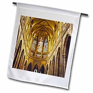 Danita Delimont - Cathedrals - Czech Republic, Prague, St Vituss Cathedral - EU06 THA0080 - Tom Haseltine - 18 x 27 inch Garden Flag (fl_81267_2)