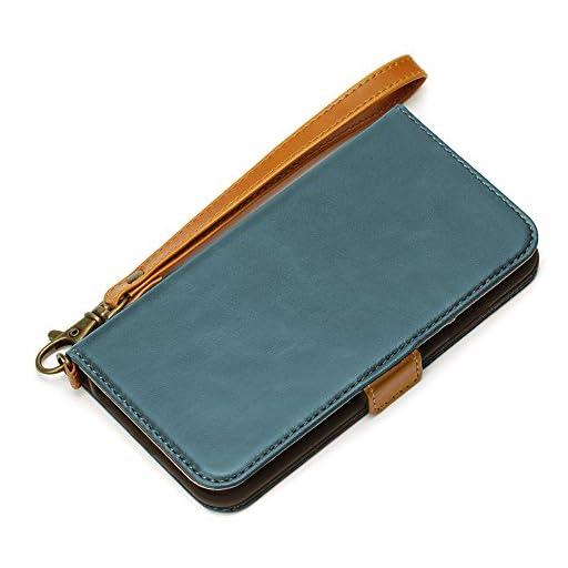 Premium Style iPhone 6s/6対応 フリップカバー ブルー PG-I6SFP03BL PG-I6SFP03BL