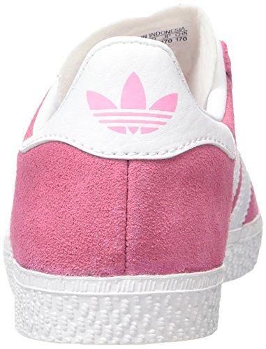 adidas Gazelle C, Zapatillas de Deporte Unisex Niños Rosa (Rossen/Ftwbla/Ftwbla)