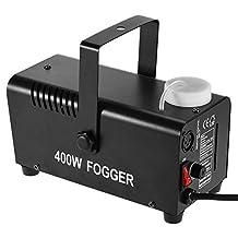 ammoon Wireless 400 Watt Fogger Fog Smoke Machine with Remote Control for Party Live Concert DJ Bar KTV Stage Effect