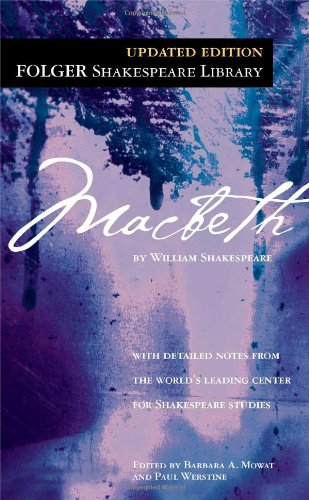 Macbeth (Folger Shakespeare Library) cover