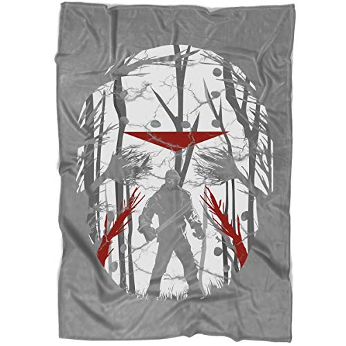 (ROEBAGS Freddy Krueger A Nightmare On Elm Street Blanket for Bed and Couch, Fly Jack Skellington Halloween Blankets - Perfect for Layering Any Bed (Large Blanket)