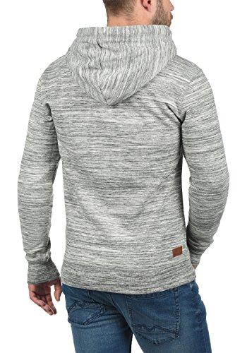 Light Avec Pour solid Sweat Homme En Melange 8242 Grey Éclair shirt Craig Zippé Sweat À Veste Capuche Fermeture q1q6Pz4