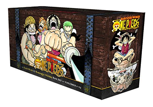One Piece Box Set: East Blue and Baroque Works, Volumes 1-23