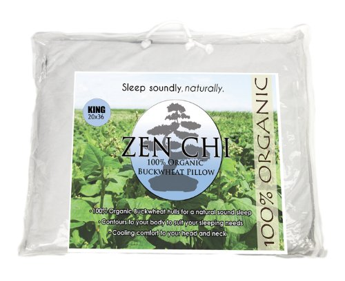 Buckwheat Pillow Organic King Size product image