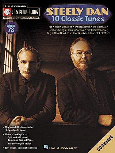 Hal Leonard Steely Dan 10 Classic Tunes - Jazz Play-Along, Volume 78 (CD/Booklet)