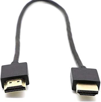 iBecly Cable Ultrafino De HDMI, Soporte 3D 1080P del Cable De Conexión del Cable del Adaptador del Televisor De La Computadora De Alta Definición.: Amazon.es: Electrónica