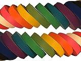 Vibrant Multi Colored Masking Tape 10 Rolls Plus one Bonus Roll
