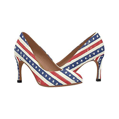 InterestPrint Womens Classic Fashion High Heel Dress Pump Shoes