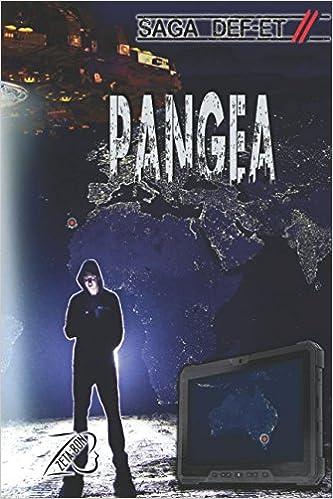 "Portada de la novela ""Pangea - Saga DEF-ET Parte 2"" del autor cántabro ZetaBon"