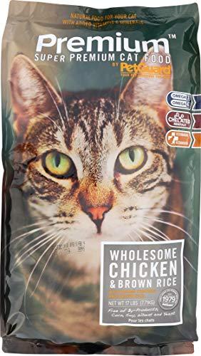 Petguard Premium Dry Cat Food Bag (1 Count), 17 Lb Review