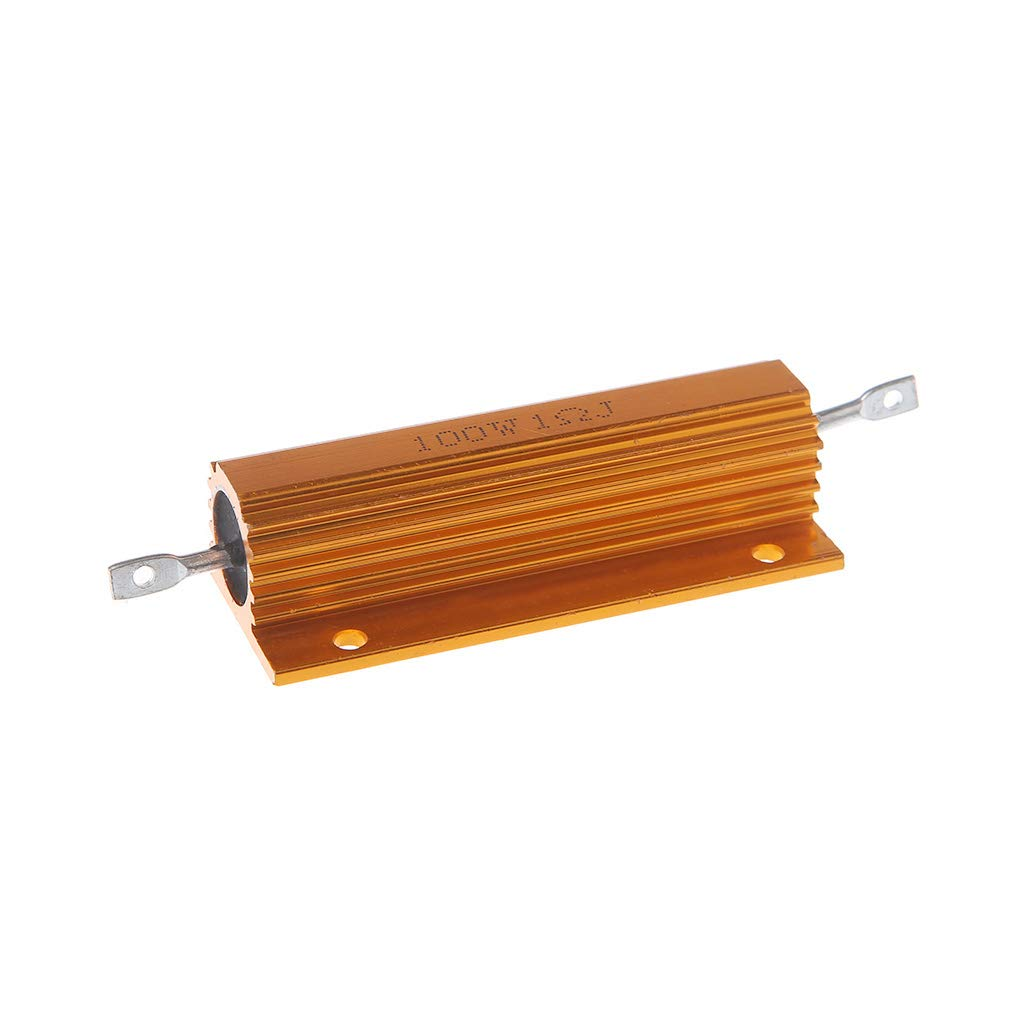Car Electronics & Accessories zhiounny 100W Shell Power Aluminum Housed Case Wirewound Resistor 1/2/4/6/8/10 Ohm Car Electronics Accessories