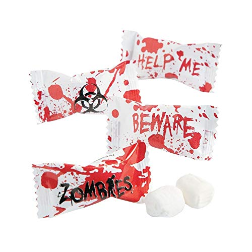 Zombie Party Halloween Favors - Candy Buttermints - 108 pcs