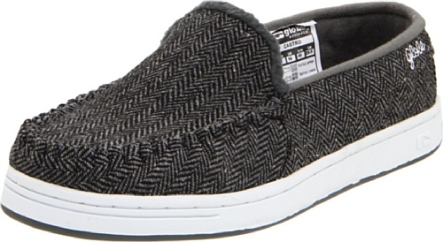 Globe Men's Castro,Black/Grey Tweed,6 D US (Clearance Mens Skate Shoes)