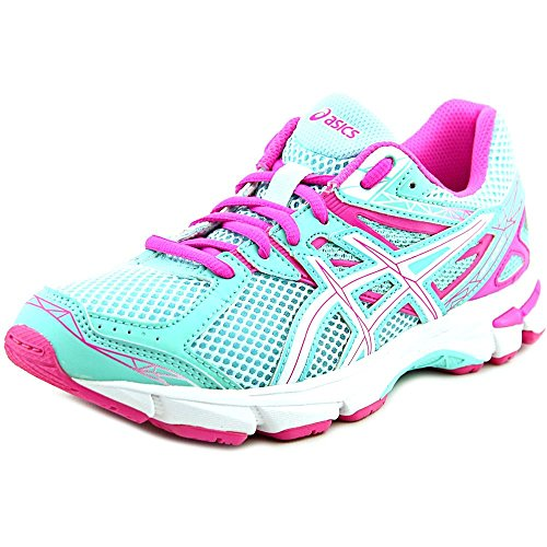 Price comparison product image ASICS GT 1000 3 GS Running Shoe (Little Kid/Big Kid),Mint/White/Hot Pink,6 W US Big Kid