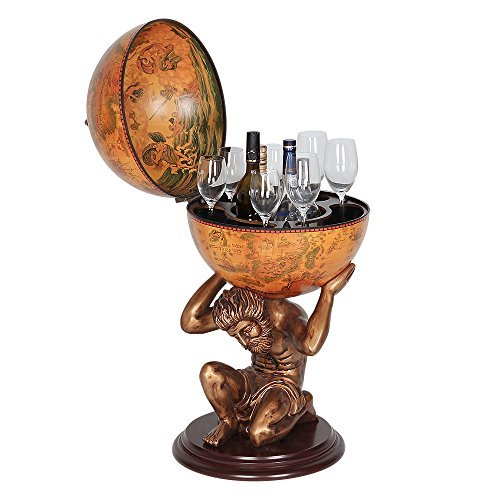 NEX HT-KF304G-M Globe Wine Bar, Wood