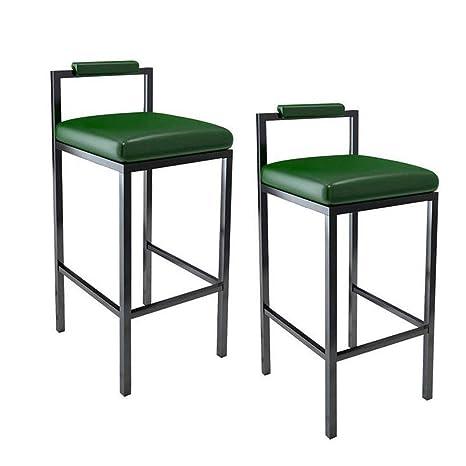 Amazon.com: LMLSHJBD Taburete de bar de 2 piezas, silla alta ...