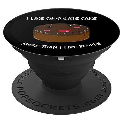 Amazon.com I Like Chocolate Cake More Than People Funny