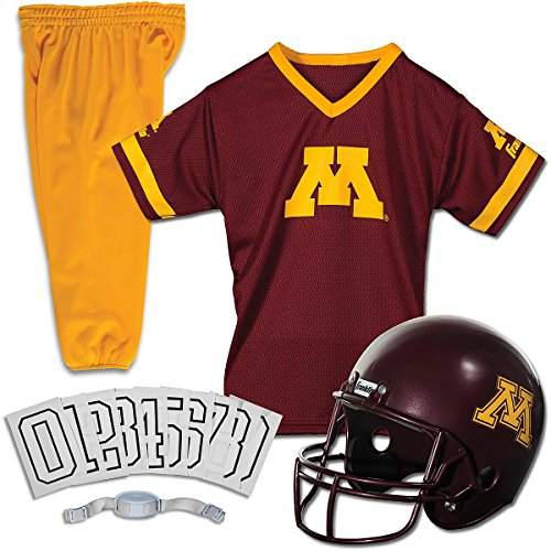 Franklin SPORTS NCAA SMALL MINNESOTA GOPHERS DELUXE UNIFORM SET (Football Youth Franklin Uniform Set)