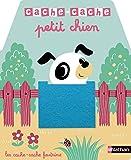 Cache-cache petit chien - Livre matière - éveil - Dès 6 mois