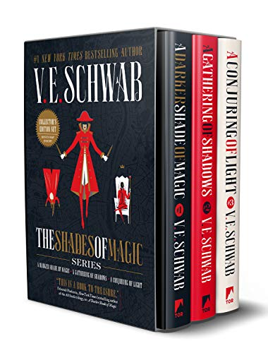 Shades of Magic Collector's Editions Boxed Set: A Darker Shade of Magic, a Gathering of Shadows, and a Conjuring of Light por V. E. Schwab