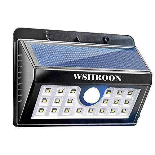 Wsiiroon Solar Light
