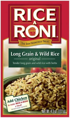 (Rice a Roni Long Grain & Wild Rice (Pack of 2))