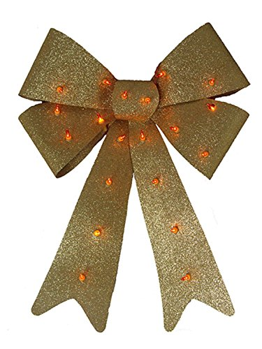 Outdoor Lighted Bows - 9
