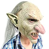 Freahap Goblins Big Nose Halloween Mask Horror Props for Cosplay Party