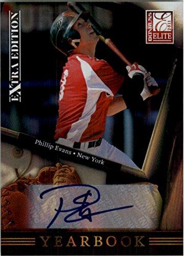 2011 Donruss Elite Extra Edition Yearbook Signatures #11 Phillip Evans Auto /246 - NM-MT