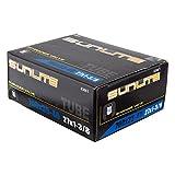 Sunlite Standard Schrader Valve Tubes, 700 x 35 - 40 (27 x 1.375') / 32mm Valve, Black