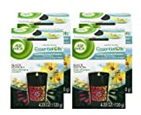 Air Wick Color Changing Black Edition Scented Candle, Uplifting Ocean Flower Scent, 4.23 Ounce (Pack of 4)