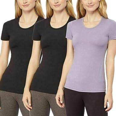 32 Cool Ladies Short Sleeve Moisture Wicking 2 Pack Top Size MEDIUM White  NEW