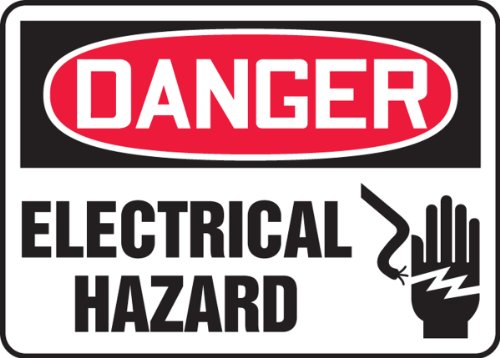 Electrical Hazard Sign - 2
