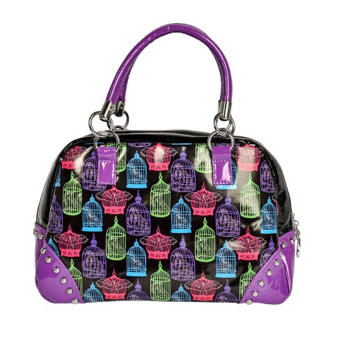 Borsa Too Fast Birdcage (Multicolore)