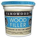 Famowood 40002148 Latex Wood Filler, White Pine, Net Wt 13.0 lbs.