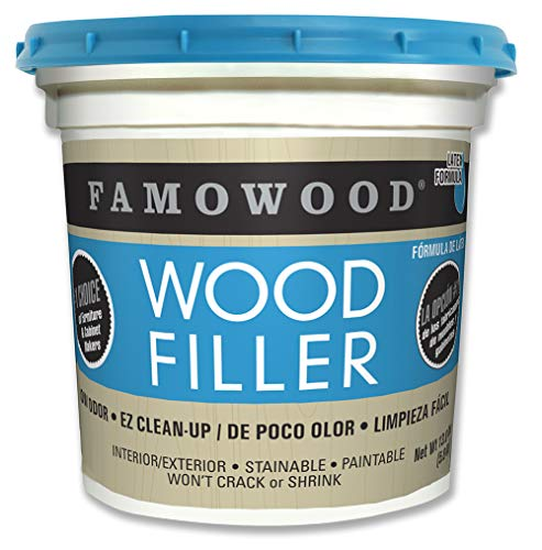 Famowood 40002126 Latex Wood Filler, Natural, Net Wt 13.0 lbs.