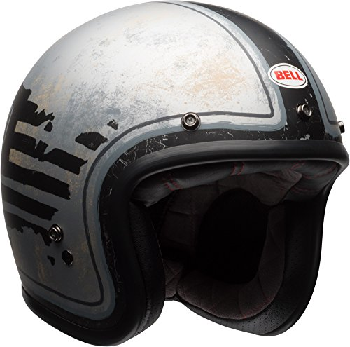 af86a784 Bell Custom 500 Special Edition Open-Face Motorcycle Helmet (RSD 74 Black /Silver