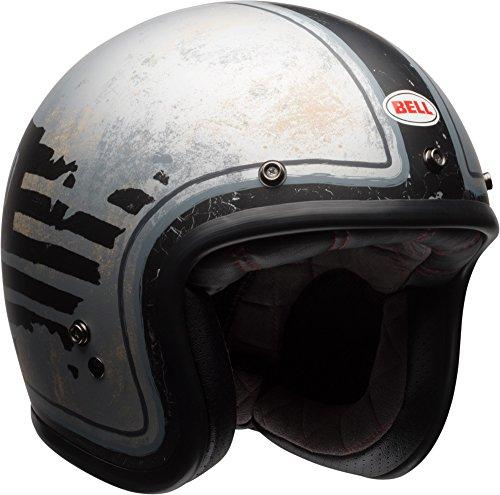 Bell Custom 500 Special Edition Open-Face Motorcycle Helmet (RSD 74 Black/Silver, Medium)