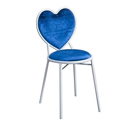 Superieur Decorative Stool Bar Stools, Heart Shaped Chair High Chair Backrest Chair  Creative Dressing Table