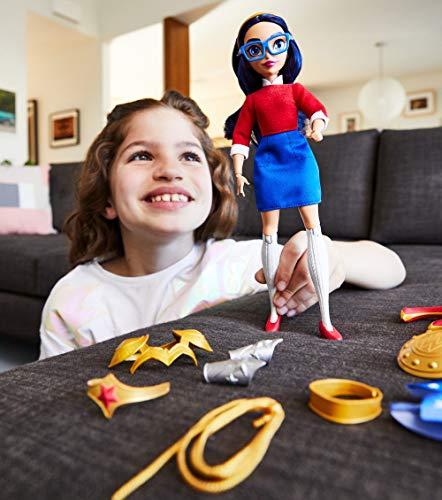 51wjbCsj6cL - DC Super Hero Girls Teen to Super Life Wonder Woman Doll