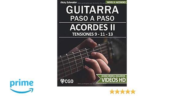 Acordes II - Guitarra Paso a Paso - con Videos HD: TENSIONES 9 ...