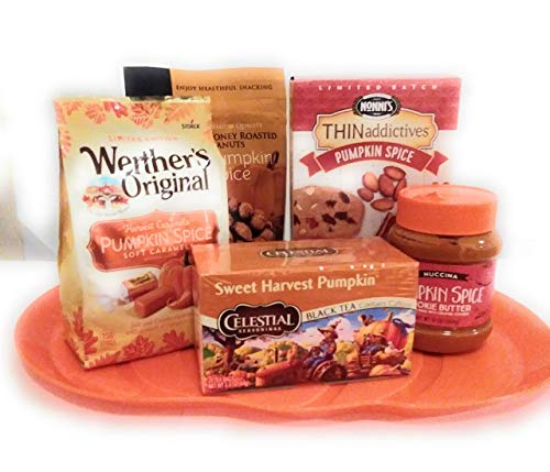 Pumpkin Spice Thanksgiving Dinner Gift Holiday Gift Set For Mom Dad Grandma Friend -