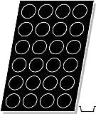 Flexipan, Tatin Apple Tart 4.56 Oz, 82mm Diam x 30mm Deep (3-1/8'' Dia x 1-3/16'' Deep), 24 Cavities