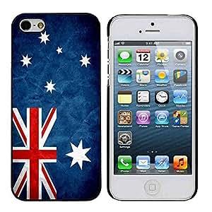 Australia Grunge Flag iPhone 5/5s Case