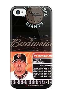 AXTBKtf499hUblq DanRobertse San Francisco Giants Durable Iphone 4/4s Tpu Flexible Soft Case