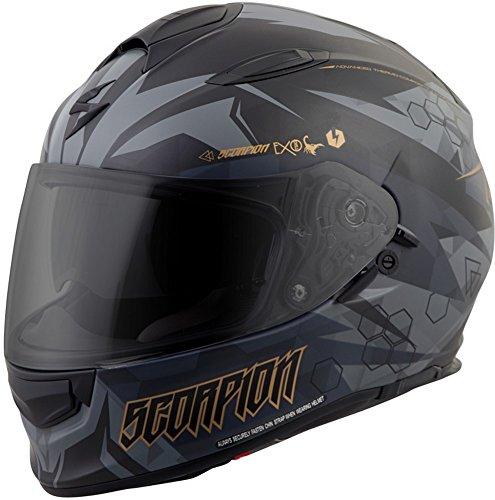 ScorpionExo Unisex-Adult full-face-helmet-style EXO-T510 Helmet (Gray,Large), 1 Pack