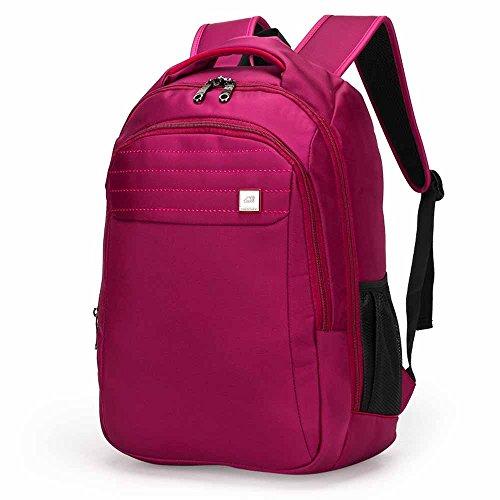 AllureFeng Femmes et sports de plein air hommes affaires 15,6 pouces pour ordinateur portable sac de voyage sac à dos sac à bandoulière